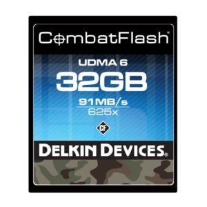 Rent Delkin Devices 625x Speed 32GB CF Card Nyc