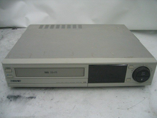 Sony SVO-1610 VHS Recorder Rental Brooklyn Manhattan, Nyc