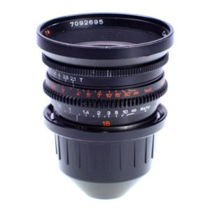 Rent Zeiss Standard Speed 16mm T2.1 Prime PL Lens in Nyc