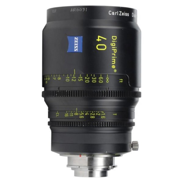 Zeiss DigiPrime 40mm T1.6 Cine Prime B4 Lens Rental in Nyc