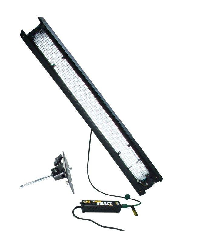 Fluorescent Light Noise: Kino Flo 4' 1 Bulb Fluorescent Light