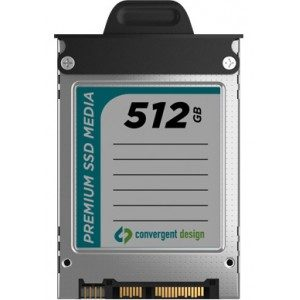 Convergent Design Odyssey 512GB SSD Drive