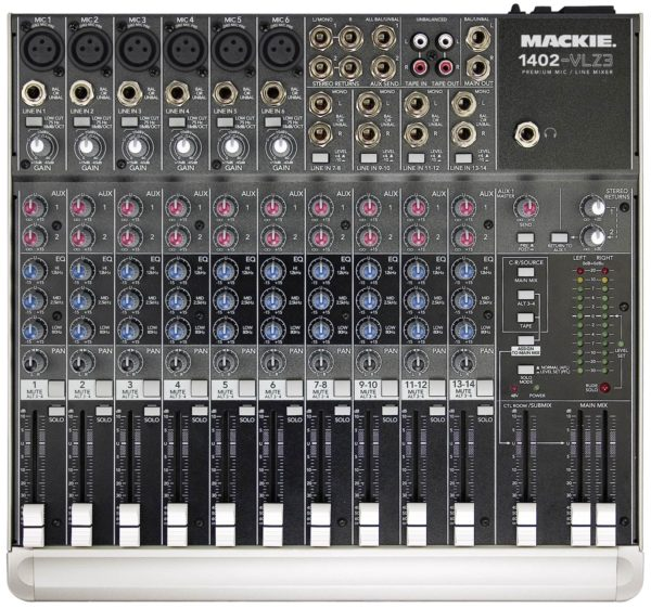 Mackie 1402 Mixer Rental, Audio Equipment Rental, Brooklyn Nyc Manhattan