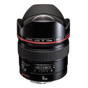 Rent Canon 14mm L Prime EF Lens Nyc