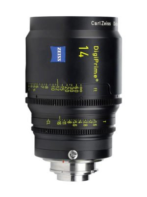 Zeiss DigiPrime 14mm T1.6 Cine Prime B4 Lens Rental NY