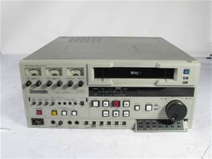 Panasonic AG-7750 VHS Deck Rental Manhattan Nyc