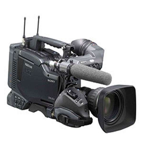 Sony PDW-F800 Camera With Lens