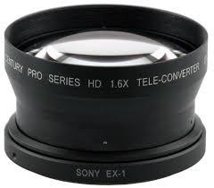 Century Pro Series HD 1.6X Tele-Converter for Sony EX1/3