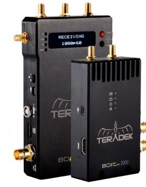 Teradek Bolt Pro 2000 SDI/HDMI Wireless Video Transceiver Set