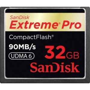 Sandisk 600x Speed Extreme Pro 32GB CF Card for Rent