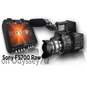 Rent Sony FS700 Raw Option for Odyssey 7Q