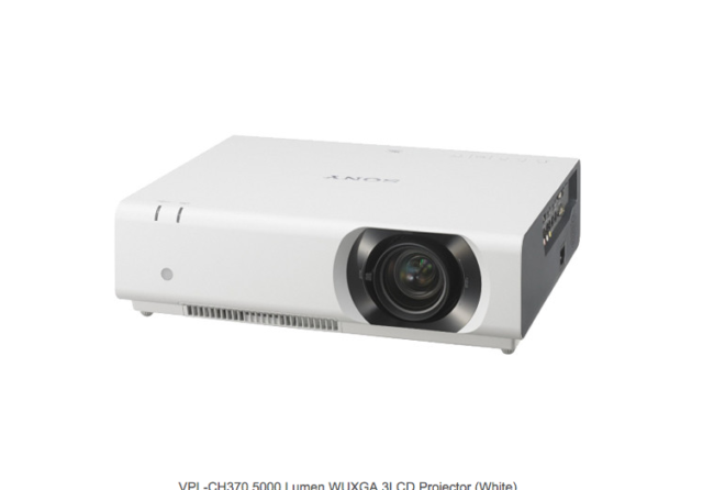 Sony VPL-CH370 5000 Lumen WUXGA 3LCD Projector