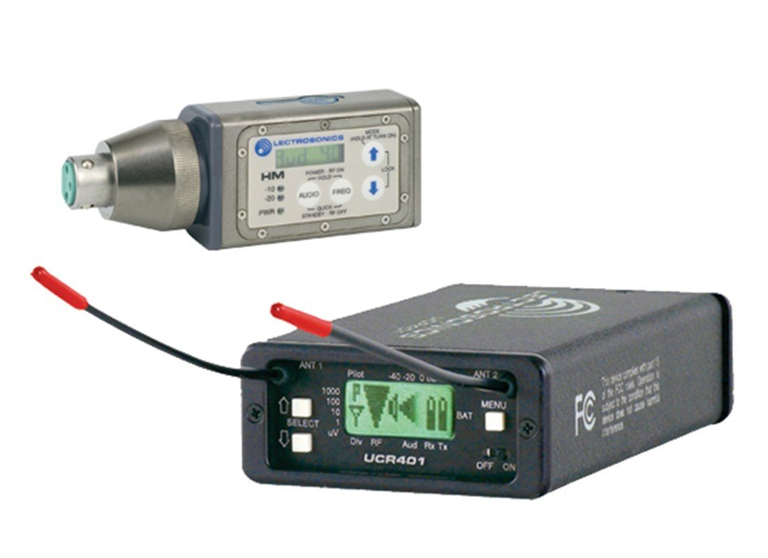 Lectrosonics UCR-401/ HM/ UM-400a Wireless Combo Kit for Rent NYC