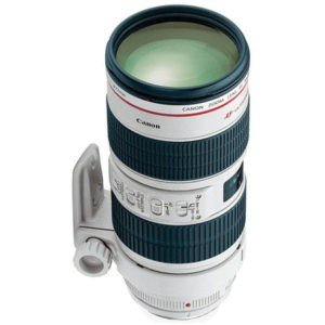 Canon EF 70-200mm f/2.8L IS II USM Lens for Rent in Nyc
