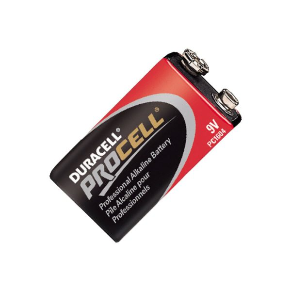 Duracell Procell 9 Volt Battery, Film Production Expendables Nyc
