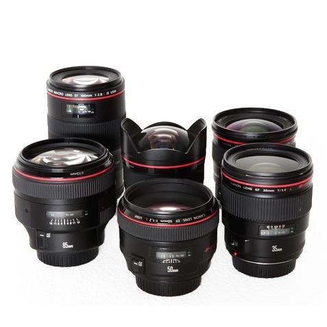 Canon Prime EF Lens Set Rental NYC