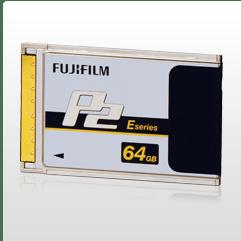 Fujifilm 64GB E-Series P2 Card