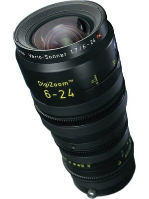 Zeiss DigiZoom 6-24mm T1.9 Cine Zoom B4 Lens