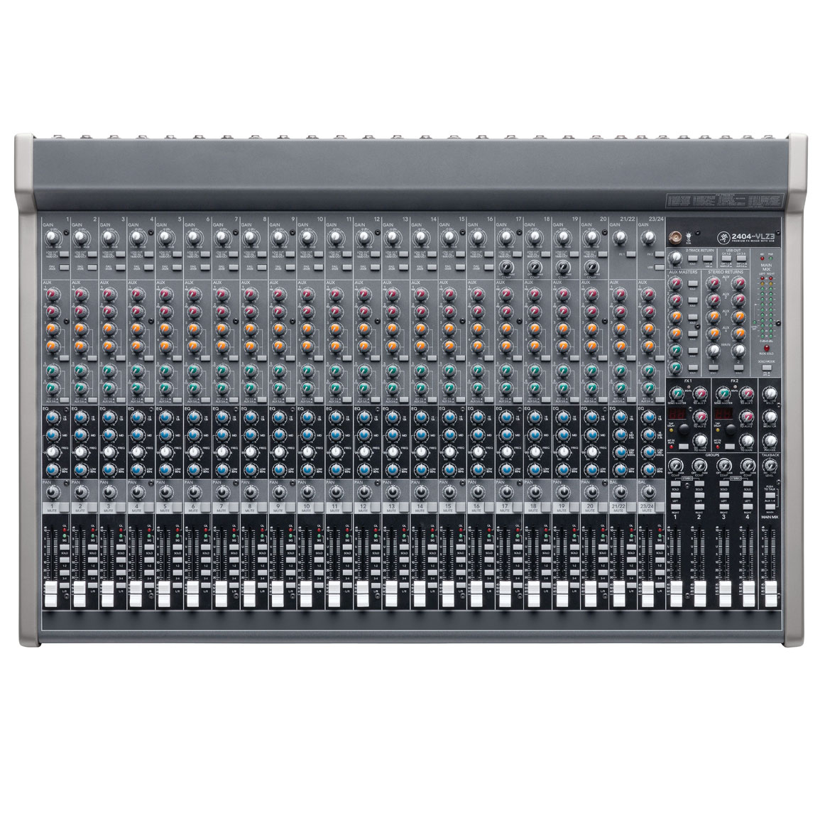 Rent Mackie 24 Channel Bus Mixer