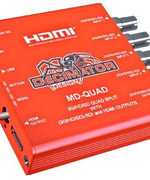 Decimator Design MD-Quad 3G/HD/SD Quad Split