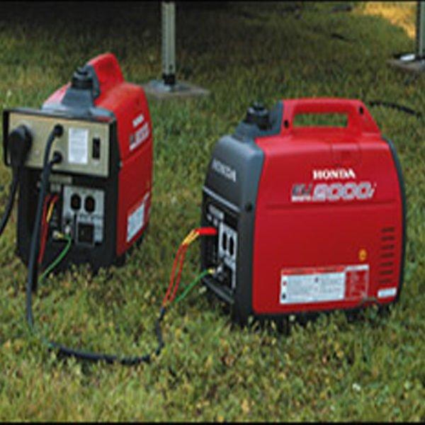 Rent Two Honda EU2000i Super Quiet Generators With Parallel 30A Kit
