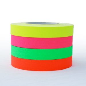 1 Inch Flourescent Tape, Rent Professional Video Equipment