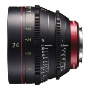 Canon CN-E 24mm T1.5 Cinema Prime EF Lens Rental in Nyc
