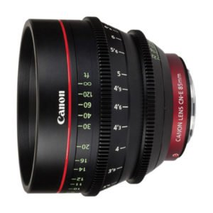 Canon CN-E 85mm T1.3 Cinema Prime EF Lens Rental in Nyc