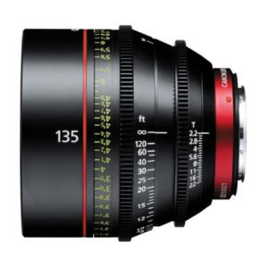 Canon CN-E 135mm T2.2 Cinema Prime EF Lens Rental in Nyc