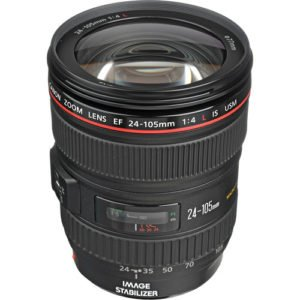 Canon 24-105mm F/4L Zoom EF Lens for Rent in NYC