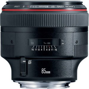 Canon 85mm F/1.2L Prime EF Lens Rental NYC