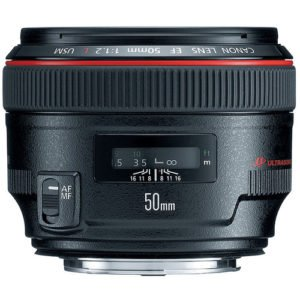Canon 50mm F/1.2L Prime EF Lens Rental NY, NJ