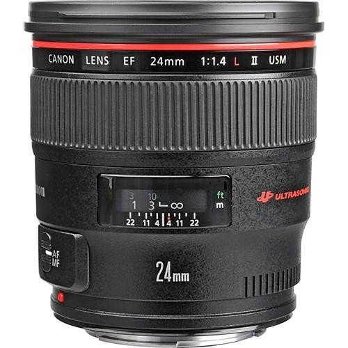 Rent Canon 24mm F/1.4L Prime EF Lens in NYC