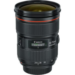 Canon 24-70mm F/2.8L II Zoom EF Lens for Rent in NYC