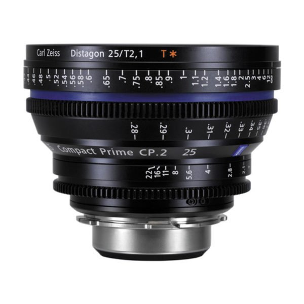 Rent Carl Zeiss CP.2 25mm T2.9 PL/EF Lens Nyc