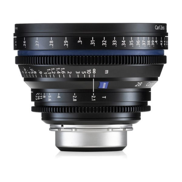 Carl Zeiss CP.2 28mm T2.1 PL/EF Lens Rental in Nyc