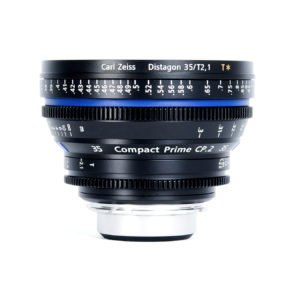 Carl Zeiss CP.2 35mm T2.1 PL/EF Lens Rental Nyc