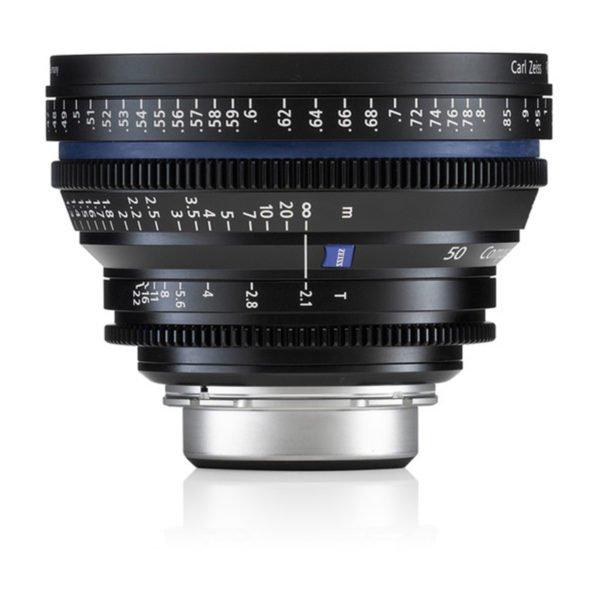 Carl Zeiss CP.2 50mm T2.1 PL/EF Lens Rental in Nyc