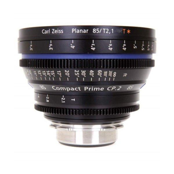 Carl Zeiss CP.2 85mm T2.1 PL/EF Lens Rental Nyc