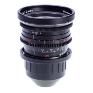 Zeiss Standard Speed 85mm T2.1 Prime PL Lens Rental Nyc
