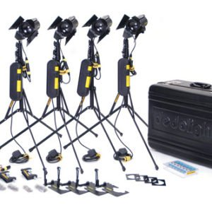 Dedolight DLH-2 150 Watt Spotlight Kit Rental in Manhattan and Brooklyn