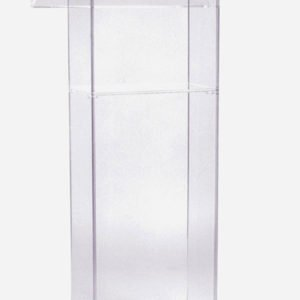 Lucite Podium for Rent in Nyc