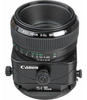 Canon 90mm TS-E F/2.8 Tilt Shift EF Prime Lens