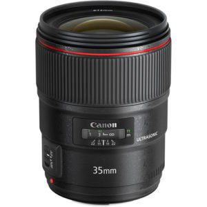 Canon 35mm F/1.4L II Prime EF Lens Rental NYC