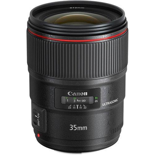 Canon 35mm F/1.4L II Prime EF Lens Rental NYC