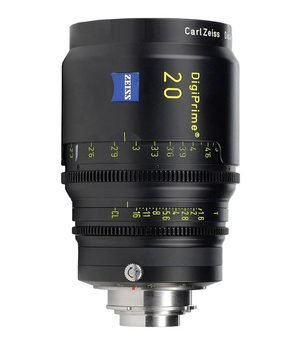 Zeiss DigiPrime 20mm T1.6 Cine Prime B4 Lens