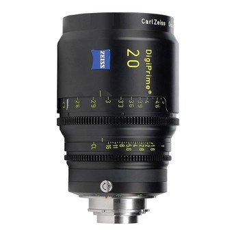 Zeiss DigiPrime 20mm T1.6 Cine Prime B4 Lens Rental in Nyc