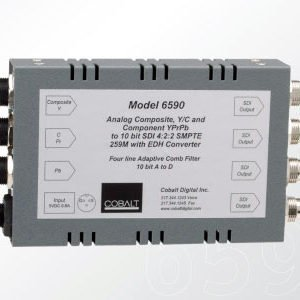 Rent Cobalt 6590 SD Analog to Digital Converter in Manhattan, Brooklyn, Nyc, Nj