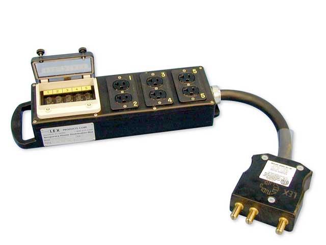Lex DB-100A Distro Box Rental
