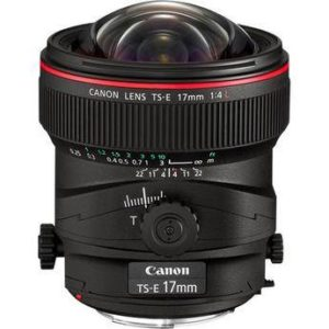 Canon 17mm TS-E F/4L Tilt Shift EF Prime Lens Rental NYC